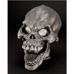 Ghost of Christmas Past skull mask from Scrooged