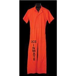 "Patrick Swayze ""Race Darnell"" prison jumpsuit from Letters from a Killer"