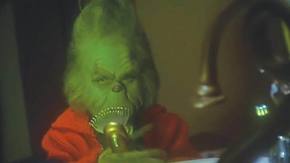 How The Grinch Stole Christmas Jim Carrey.Jim Carrey Grinch Razor From How The Grinch Stole Christmas