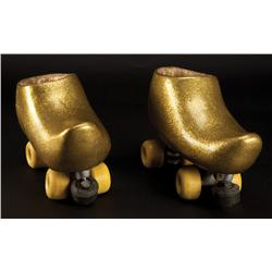 """Mike Myers """"Goldmember"""" roller skates from Austin Powers in Goldmember"""