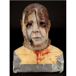 "Brad Loree ""Michael Myers"" burn effect mask from Halloween: Resurrection"