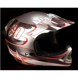 """Cameron Diaz """"Natalie Cook"""" motocross helmet from Charlie's Angels: Full Throttle"""