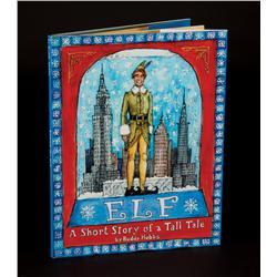 Buddy's ELF book from Elf