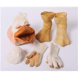 "Ed Gale ""Howard T. Duck"" rare costume from Howard the Duck"