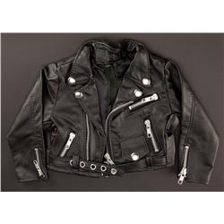 """""""Tiffany"""" hero puppet-worn wedding dress and black leather motorcycle jacket from Seed of Chucky"""