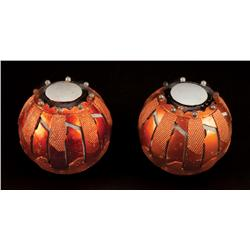 Pair of pumpkin bombs from Spider-Man 3