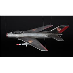 Kim Jong-Il MiG-19 fighter miniature from Team America