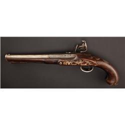 Johnny Depp Capt Jack Sparrow stunt flintlock pistol from Pirates of the Caribbean: Dead Man's Chest