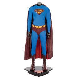 Complete hero Brandon Routh costume from Superman Returns