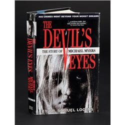 "Malcolm McDowell ""Dr. Samuel Loomis"" book from Halloween"