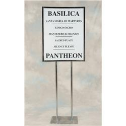 Basilica signs from Angels & Demons