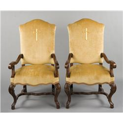 Collection of chairs from Angels & Demons