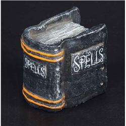 Screen-used prop Book of Spells from The Nightmare Before Christmas
