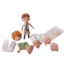 Fully articulated James head from James and the Giant Peach