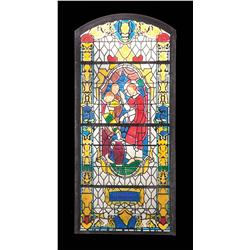 Stained glass windows from End of Days