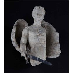 Archangel Michael statue from End of Days