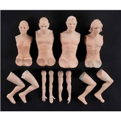 Puppet sculpture masters from The League of Extraordinary Gentlemen
