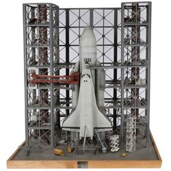 """Russian """"Buran"""" space shuttle miniature from BMW """"Rocket"""" commercial"""