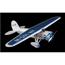 Lockheed Vega Winnie Mae aircraft filming miniature - Night at the Museum: Battle of the Smithsonian