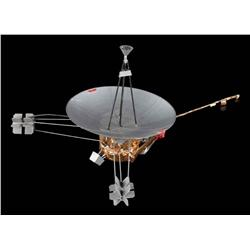 Voyager Satellite spacecraft filming miniature from Night at the Museum: Battle of the Smithsonian