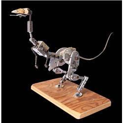 Tauntaun test stop-motion armature from Star Wars: Episode V – The Empire Strikes Back