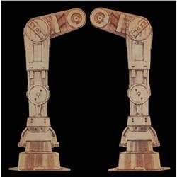Joe Johnston leg design for creation of AT-AT from Star Wars: Episode V - The Empire Strikes Back
