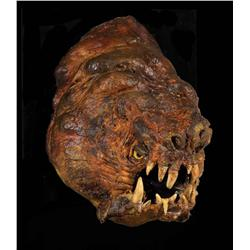 Front of Rancor head master production model from Star Wars: Episode VI –Return of the Jedi
