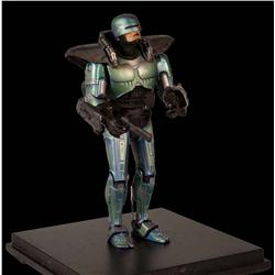 RoboCop with rocket pack stop-motion puppet from Robocop 2 & 3
