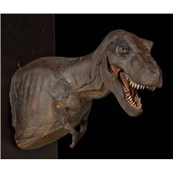Jurassic Park stop-motion hero T-Rex puppet (torso) for main animation sequence