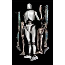 Assorted robot parts from AI: Artificial Intelligence