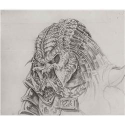 Conceptual artwork for creature design from Predator