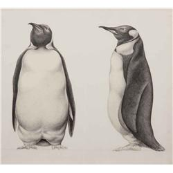 Conceptual artwork for penguin henchmen from Batman Returns