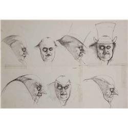 "Mark ""Crash"" McCreery conceptual artwork for ""The Penguin"" from Batman Returns"