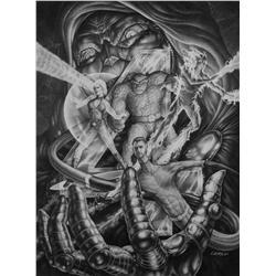 "Mark ""Crash"" McCreery conceptual artwork for Fantastic Four"