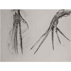 Conceptual artwork for scissorhands from Edward Scissorhands
