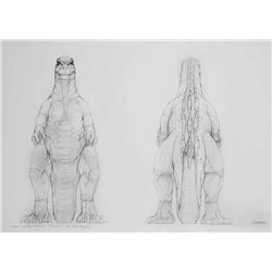 "Mark ""Crash"" McCreary conceptual artwork from Godzilla"