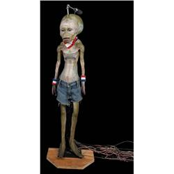 Articulated alien puppet from Comcast IP commercials