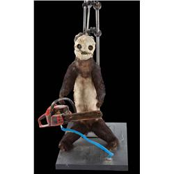 """""""Leatherface"""" chainsaw-wielding ferret from the Diet Mountain Dew commercial"""