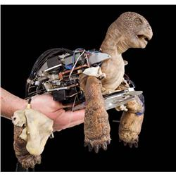 """Cable actuated turtle puppet from Comcast """"The Slowskys"""" commercial"""