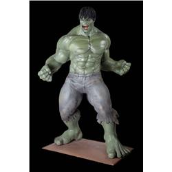 Full scale promotional Incredible Hulk statue from The Incredible Hulk