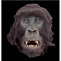 Hero animatronic and background silverback gorilla heads from Instinct