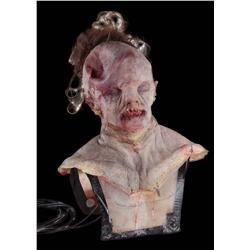 Mutant human puppet, masks and facial appliances from Pandorum
