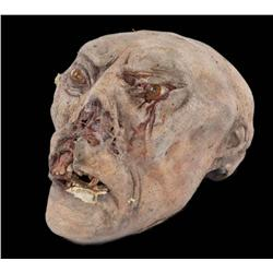 Three Morlock articulated heads created for The Time Machine and Pandorum