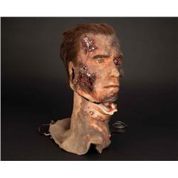 Articulated T-800 Endo head from T3: Rise of the Machines