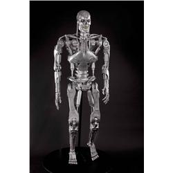 Full-size screen-used T-800 Endo skeleton from T4: Salvation