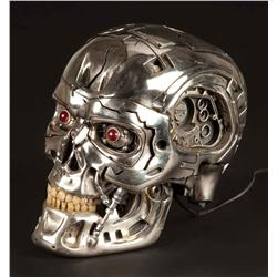 "T4: Salvation T-800 ""blown-open"" Endo skull"
