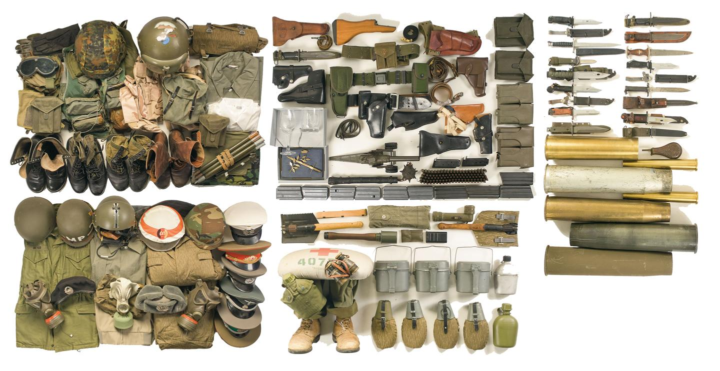 Cheap Military Surplus >> Very Large Assortment Of Military Surplus Style Items