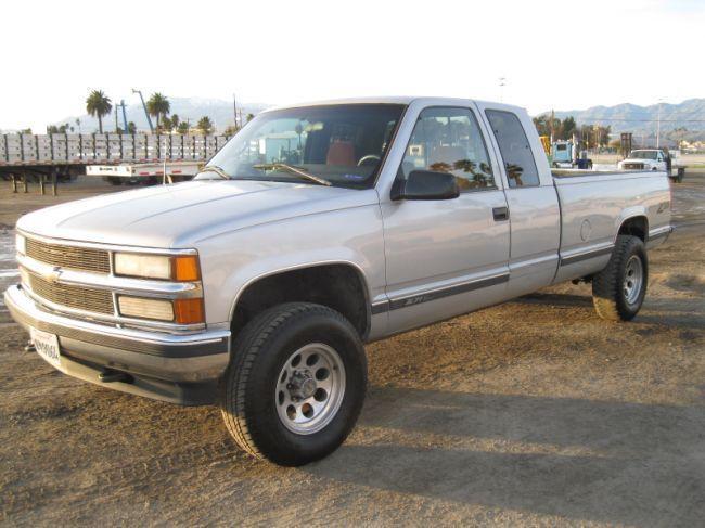 1996 Chevrolet Silverado Z71 4x4 Extended Cab Pick