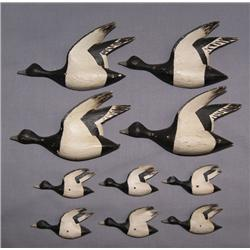 CARVED GEESE