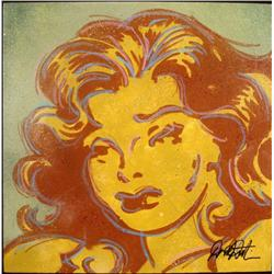Duerrstein Orignl Painting Moonbeam Lil Abner Comic Art